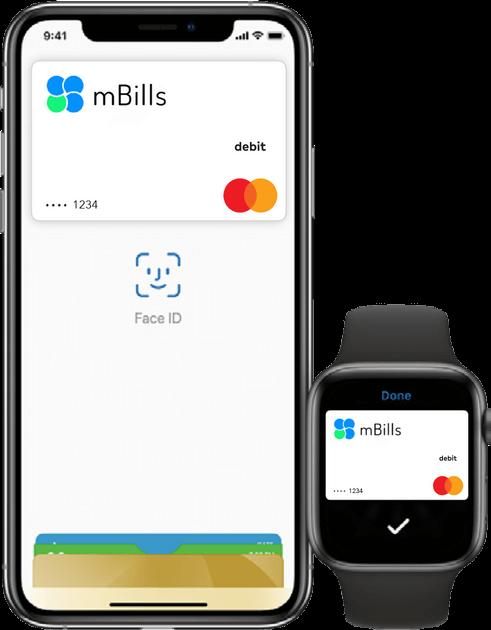 iPhone in pametna ura omogočata Apple Pay